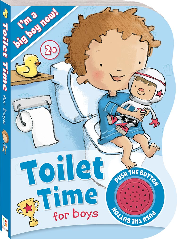 Toilet Time For Boys Sound Book Sound Early Learning
