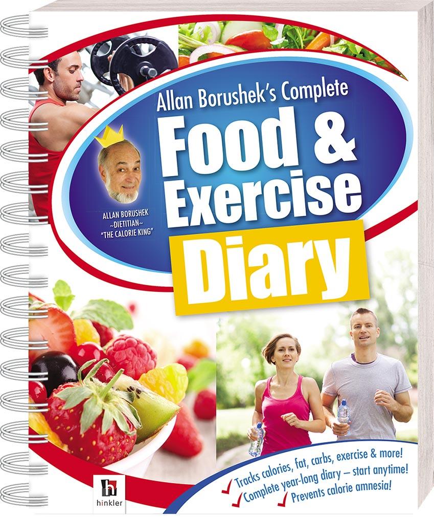 Allan Borusheks Complete Food and Exercise Diary Diaries