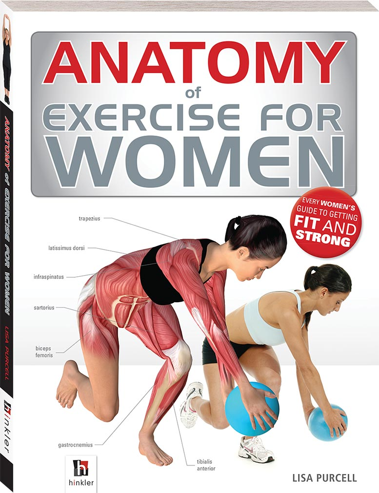 Anatomy of Exercise for Women - Books - Health, Fitness + Lifestyle ...