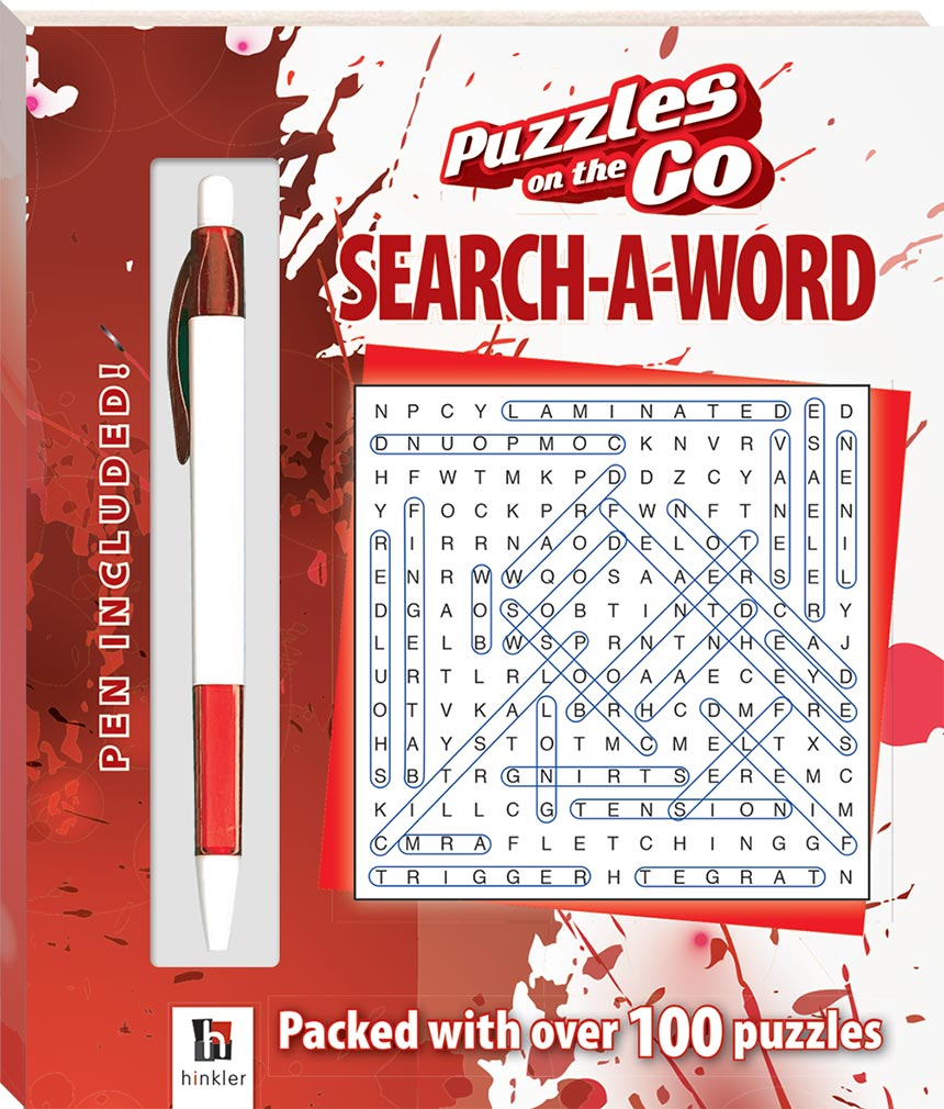 Puzzles On The Go Word Search 1 Series