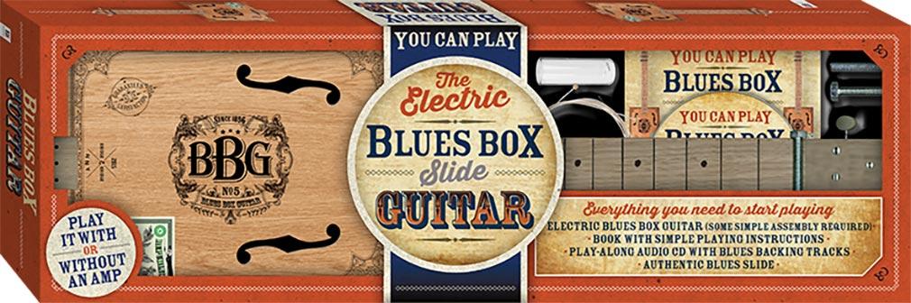 electric blues box slide guitar kit music adults hinkler. Black Bedroom Furniture Sets. Home Design Ideas