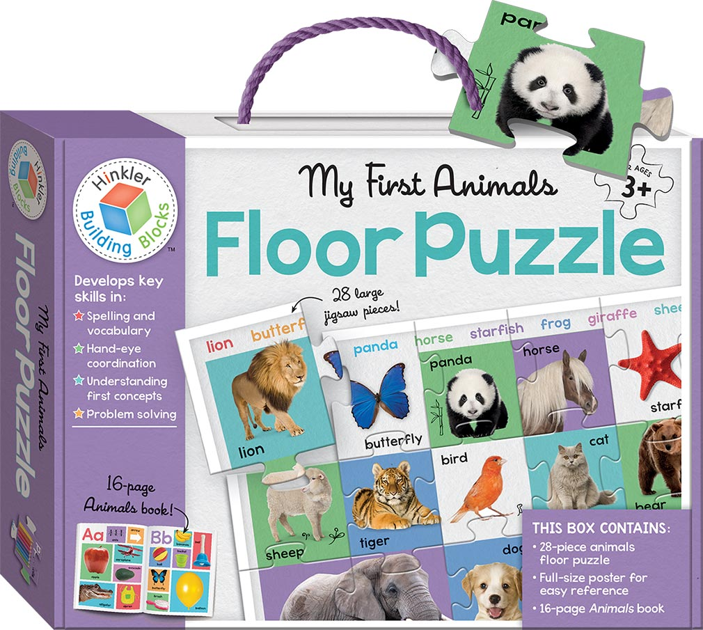 animals and building blocks first my floor puzzles games