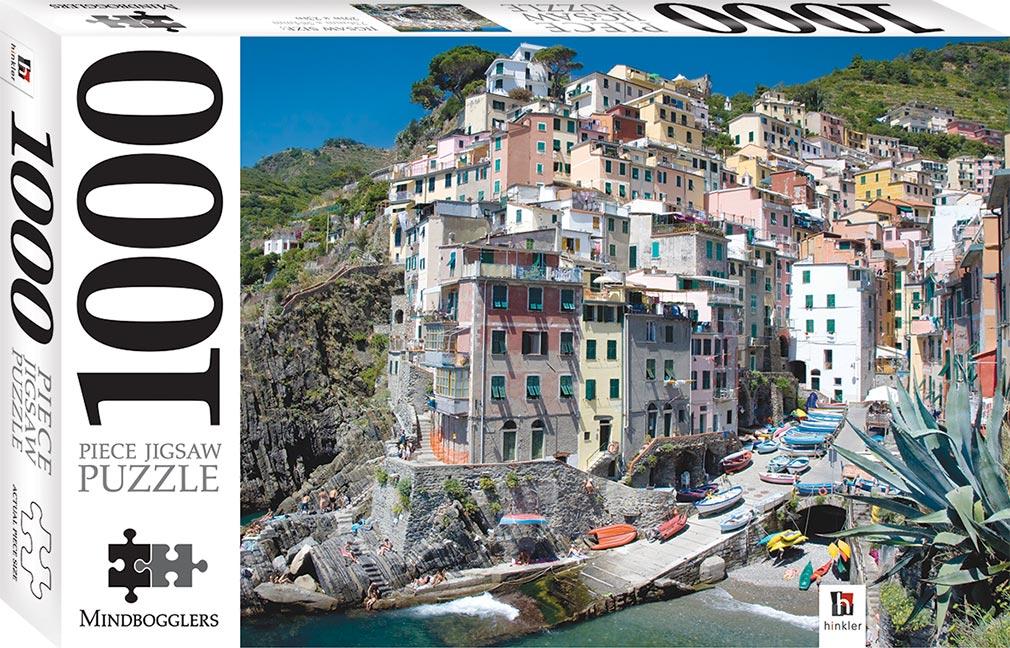 Riomaggiore Cinque Terre Italy 1000 Piece Jigsaw