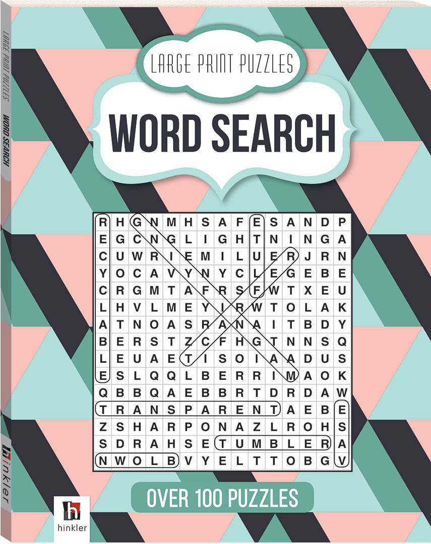 image about Printable Word Searches for Adults Large Print identify Substantial Print Puzzles: Wordsearch (Sequence 4) - Term Appear