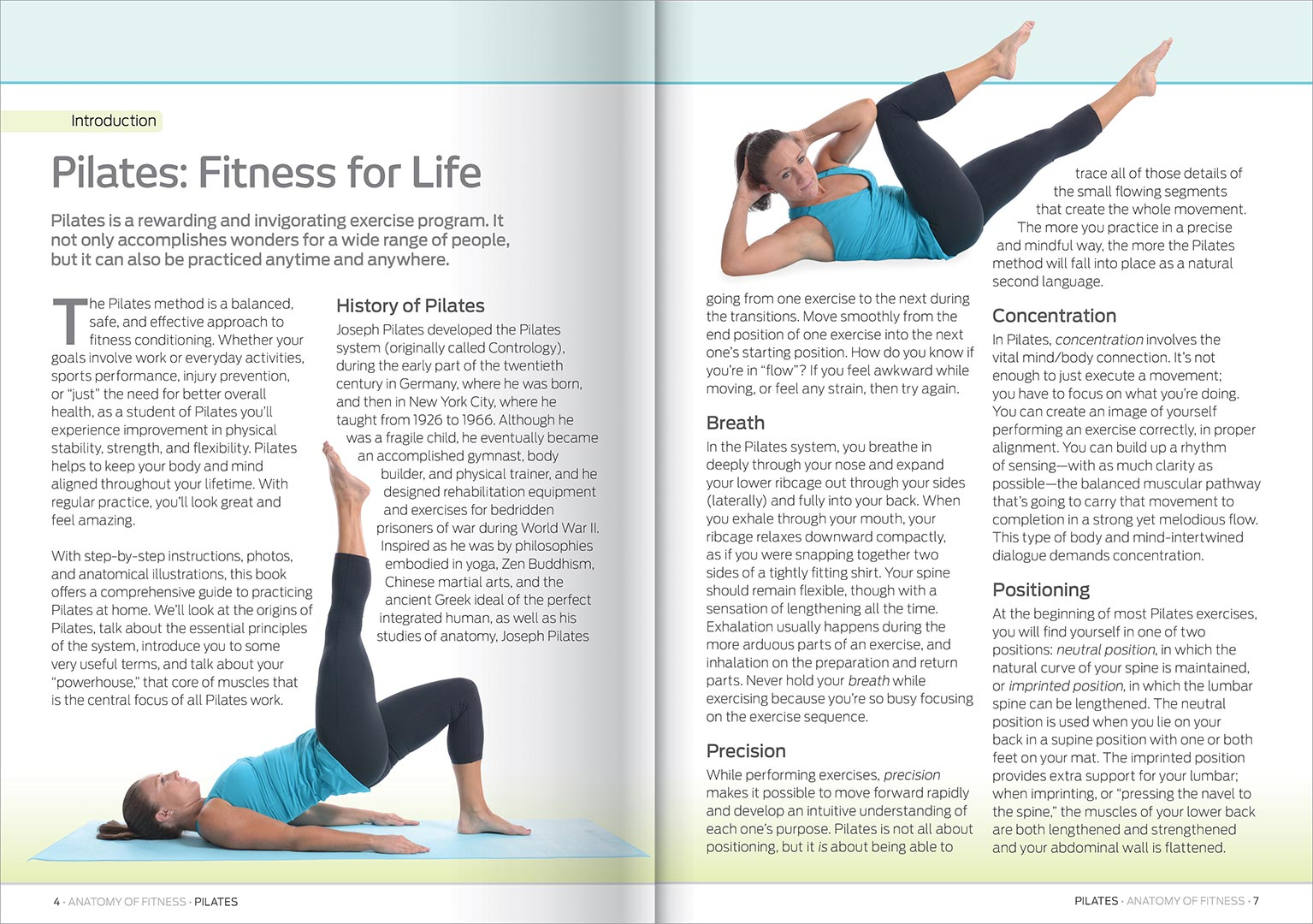 Anatomy of Fitness: Complete Pilates Workout Kit - Reference ...