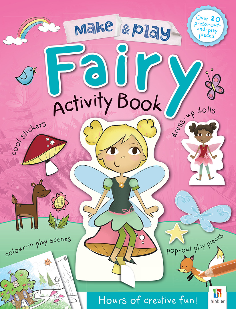 Make and Play: Fairies activity book for children