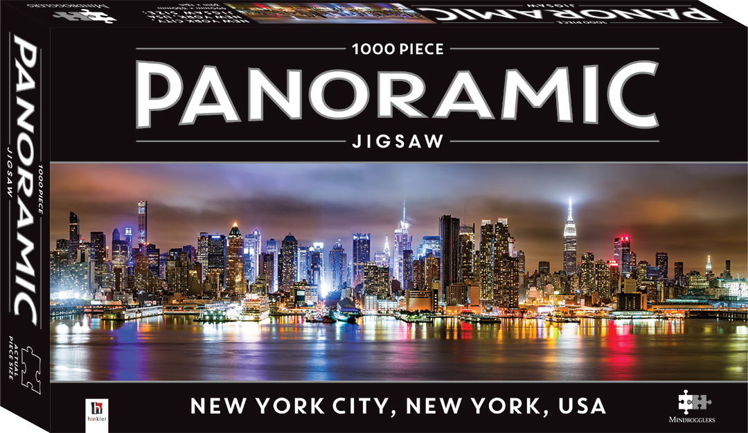 1000 Piece Panoramic Jigsaw Puzzle New York City New York