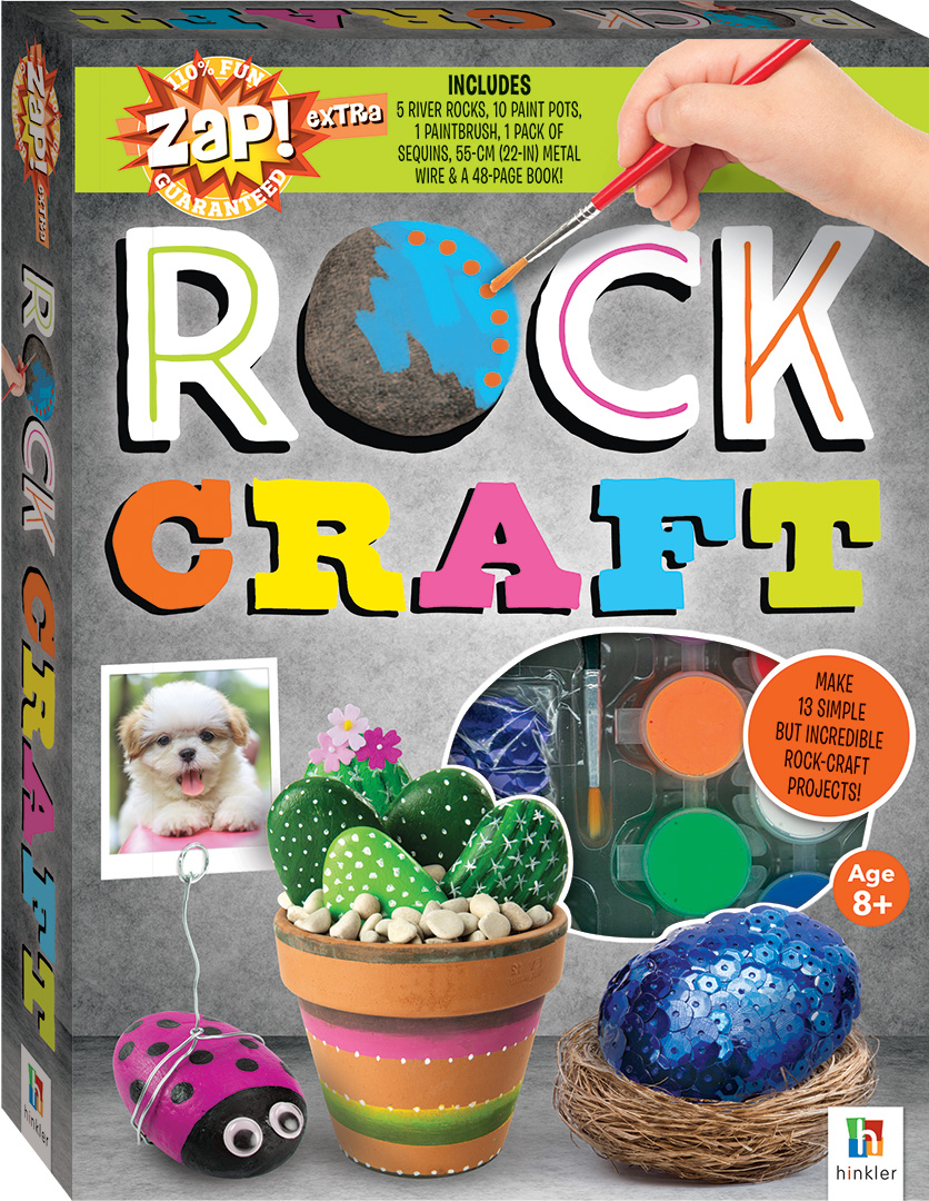 Egg Jokes: Zap! Extra Rock Craft