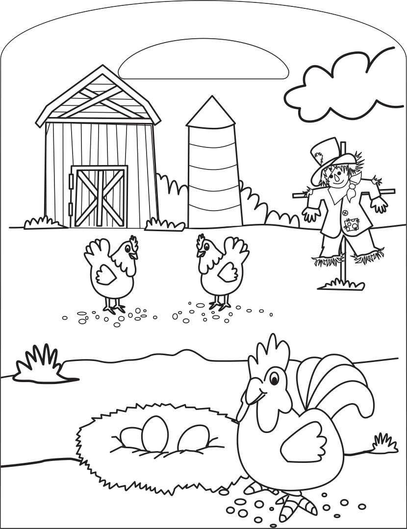 On the Farm Colouring Book - Colouring - Colour + Activity ...