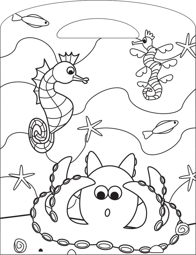 Wild Animals Colouring Book - Colouring - Colour + Activity ...