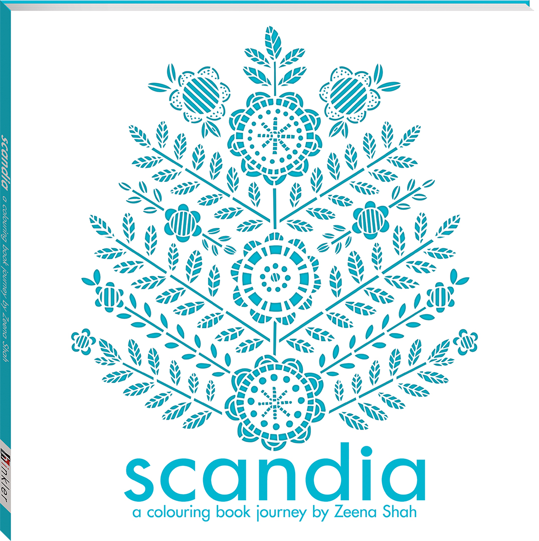 Scandia A Colouring Book Journey Books Adult Colouring