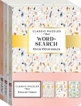 Classic Puzzles 3-pack Word Search