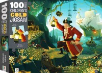 100-Piece Children's Gold Jigsaw: Pirate Treasure
