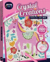 Curious Craft: Crystal Creations Canvas Magical Unicorn