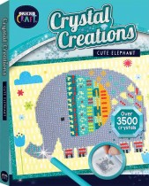 Curious Craft: Crystal Creations Canvas Cute Elephant