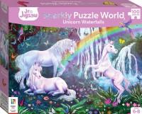 Junior Jigsaw Sparkly Puzzle World: Unicorn Waterfalls
