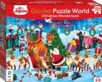 Junior Jigsaw Golden Puzzle World: Christmas Wonderland