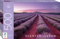 Elevate Scented 500pc Jigsaw: Lavender Fields