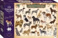 Vintage Puzzle: Dog Breeds