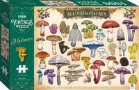 Vintage Puzzle: Mushrooms