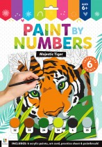 Majestic Tiger Paint by Numbers