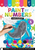 Dolphin Daydream Paint by Numbers
