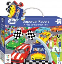 Junior Jigsaw: Supercar Racers