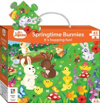 Junior Jigsaw: Springtime Bunnies