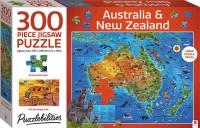 Puzzlebilities 300pc Jigsaw: Australia and New Zealand Map