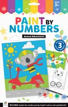 Paint By Numbers: Animal Adventures