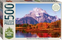 National Park Collection Jigsaw: Grand Teton, Wyoming