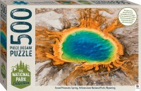 National Park Collection Jigsaw: Yellowstone, Wyoming