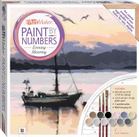 Paint by Numbers Canvas: Evening Mooring
