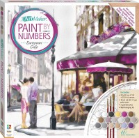 Paint by Numbers Canvas: European Cafe
