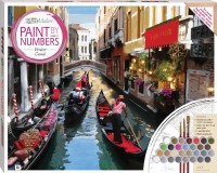 Paint by Numbers Canvas: Venice Canal