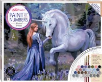 Paint by Numbers Canvas Anne Stokes: Bluebell Woods