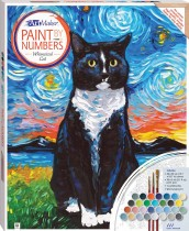 Paint by Numbers Canvas: Whimsical Cat