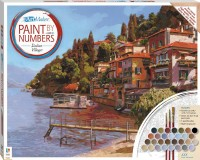 Paint by Numbers Canvas: Italian Village