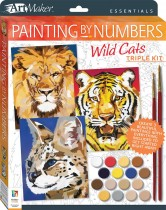 Art Maker Essentials: Painting by Numbers Wild Cats