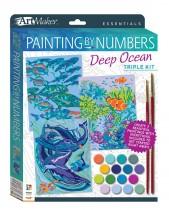 Art Maker Essentials: Painting by Numbers Deep Ocean