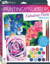 Art Maker Essentials: Painting by Numbers Fabulous Flora