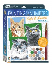 Art Maker Essentials: Painting by Numbers Cats & Kittens