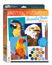 Art Maker Essentials Painting by Numbers Beautiful Birds