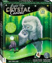 Crystal Creations Light-up Canvas: Owl and Son