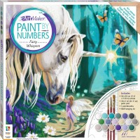 Paint by Numbers Canvas: Fairy Whispers (medium)