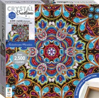 Crystal Creations Canvas: Kaleidoscopic Mandala