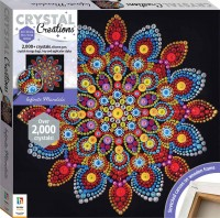 Crystal Creations Canvas: Infinite Mandala