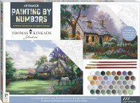 Paint by Numbers: A Perfect Summer Day & Foxglove Cottage