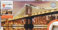 Crystal Creations Canvas: Manhattan Bridge
