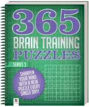 365 Puzzles: Brain Training (Series 3)